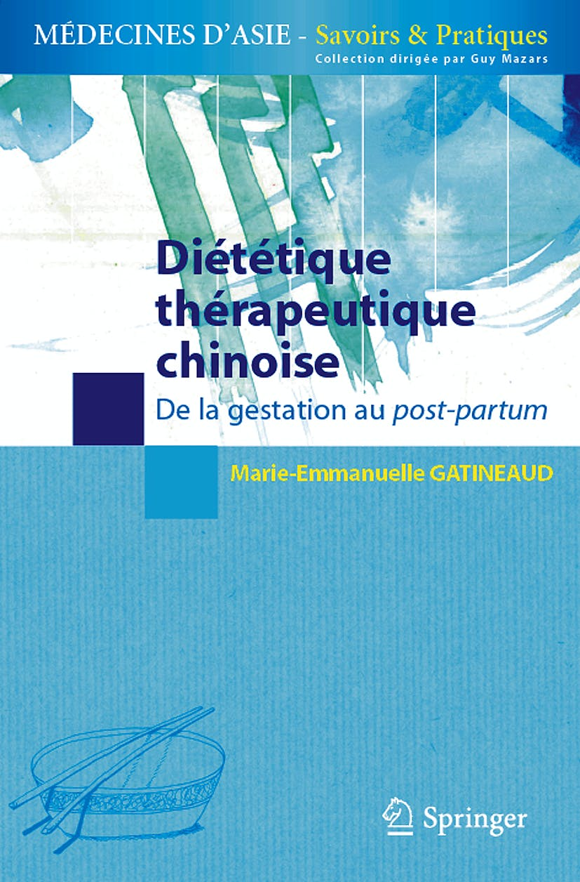 Portada del libro 9782287994746 Dietetique Therapeutique Chinoise. de la Gestation Au Post-Partum