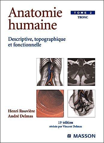 Portada del libro 9782294003929 Anatomie Humaine, Tome 2: Tronc