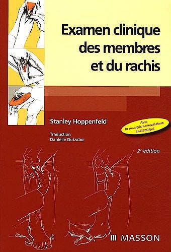 Portada del libro 9782294093180 Examen Clinique des Membres Et Du Rachis
