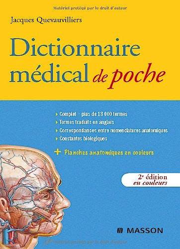 Portada del libro 9782294701290 Dictionnaire Médical de Poche