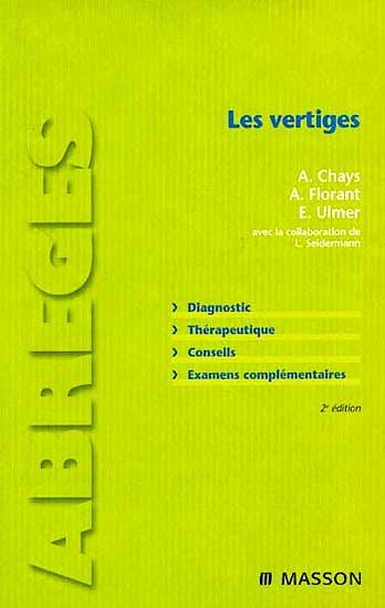 Portada del libro 9782294702143 Les Vertiges