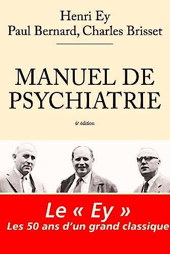 Portada del libro 9782294711589 Manuel de Psychiatrie