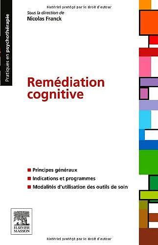 Portada del libro 9782294713422 Remédiation Cognitive (Pratiques en Psychothérapie)