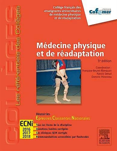 Portada del libro 9782294742842 Medecine Physique Et de Readaptation