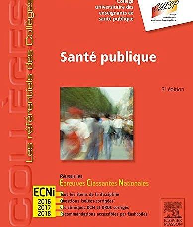 Portada del libro 9782294743696 Sante Publique