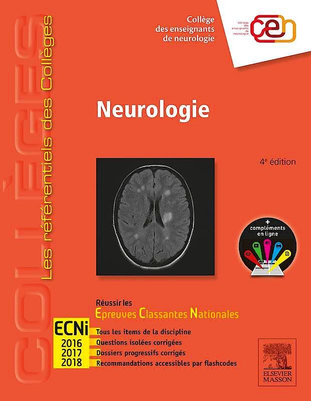 Portada del libro 9782294743863 Neurologie