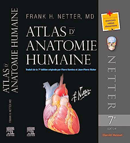 Portada del libro 9782294756290 Atlas d'Anatomie Humaine
