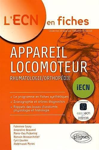 Portada del libro 9782340006119 Appareil Locomoteur. Rhumatologie/orthopedie (L'ecn en Fiches)