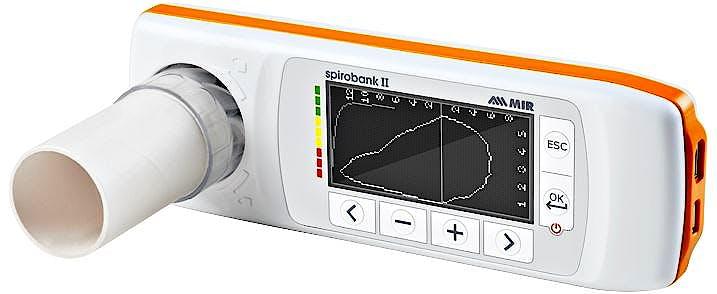 Spirobank II Smart - Espirómetro con Turbinas Desechables