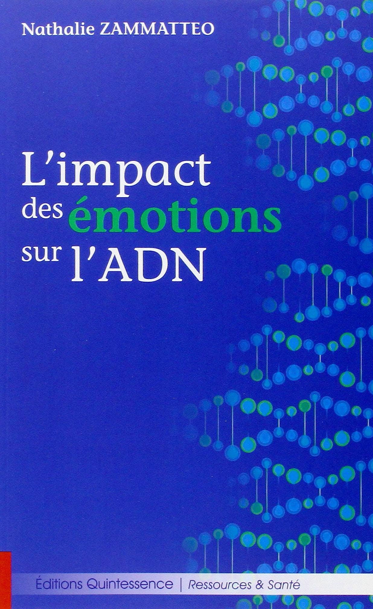 Portada del libro 9782358051293 L'Impact des Émotions sur l'ADN