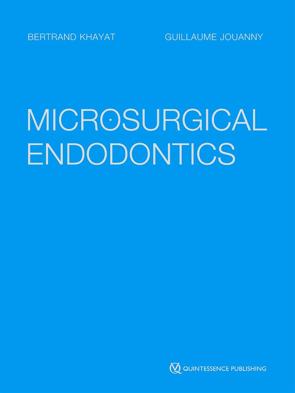 Portada del libro 9782366150575 Microsurgical Endodontics