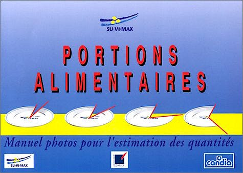 Portada del libro 9782717845624 Portions Alimentaires. Manuel-Photos Pour L'estimation Des Quantites