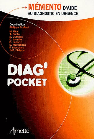 Portada del libro 9782718411255 Diag'pocket : Mémento D'aide Au Diagnostic D'urgence