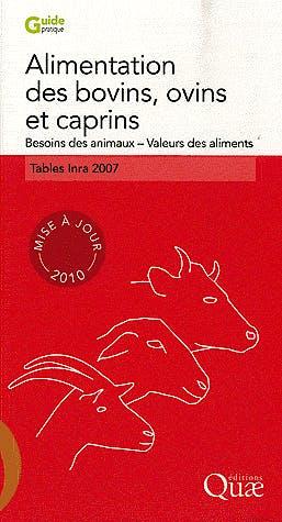 Portada del libro 9782759208739 Alimentation Des Bovins, Ovins Et Caprins