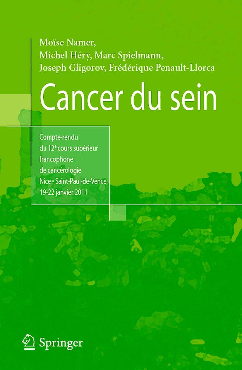 Portada del libro 9782817802442 Cancer Du Sein