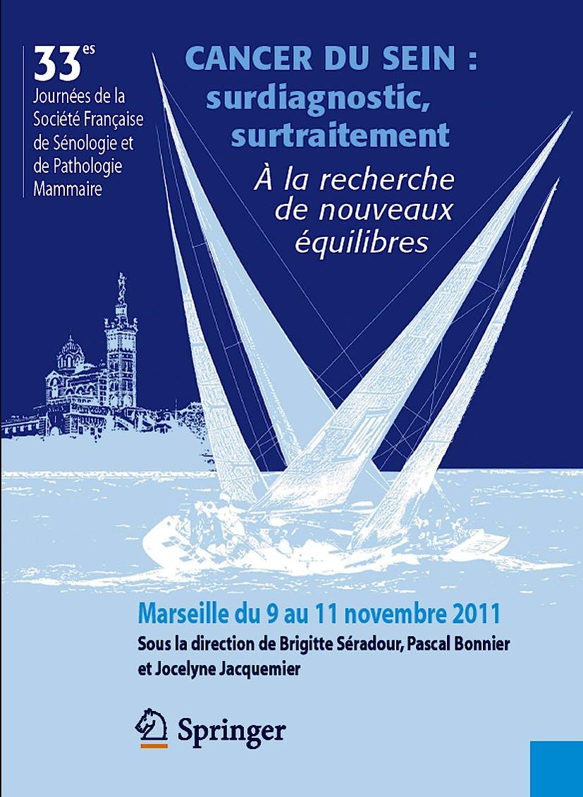 Portada del libro 9782817802480 Cancer Du Sein: Surdiagnostic, Surtraitement. a la Recherche de Noveaux Equilibres