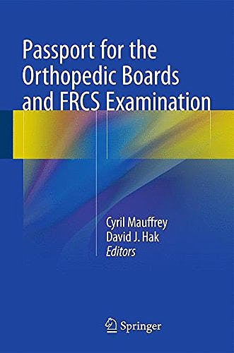 Portada del libro 9782817804743 Passport for the Orthopaedic Boards Revalidation