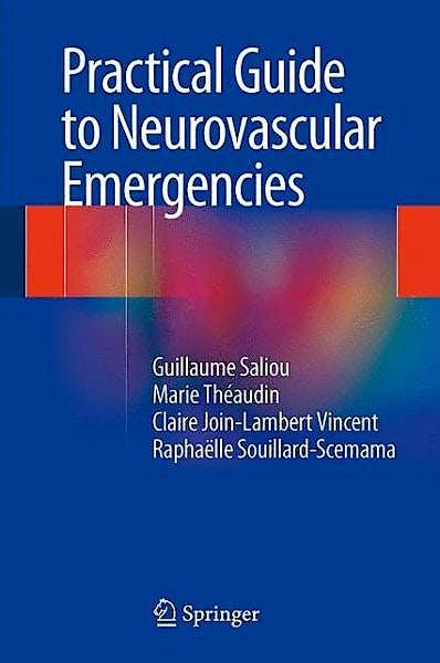 Portada del libro 9782817804804 Practical Guide to Neurovascular Emergencies
