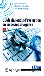 Portada del libro 9782817805306 Guide Des Outils D'evaluation en Medecine D'urgence (References en Medecine D'urgence. Collection de la Sfmu)
