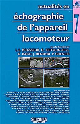 Portada del libro 9782840237112 Actualites en Echographie de L'appareil Locomoteur, Tome 7