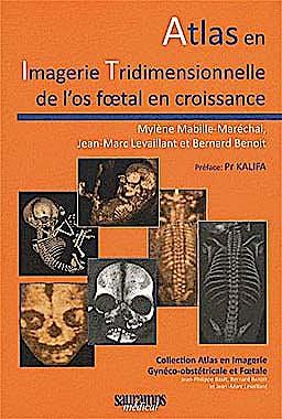 Portada del libro 9782840237181 Atlas en Imagerie Tridimensionnelle de L'os Foetal en Croissance