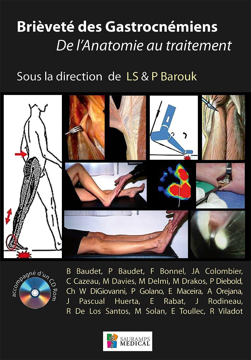 Portada del libro 9782840237532 Brievete des Gastrocnémiens. De l´Anatomie au Traitement + CD-ROM
