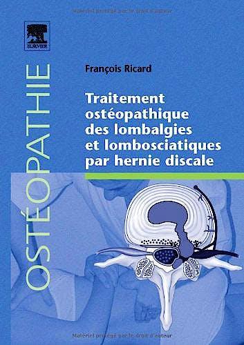 Portada del libro 9782842998394 Traitement Osteopathique Des Lombalgies Et Lombosciatiques Par Hernie Discale