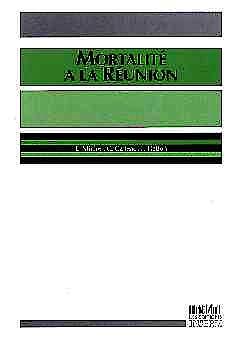 Portada del libro 9782855986302 Mortalite a la Reunion