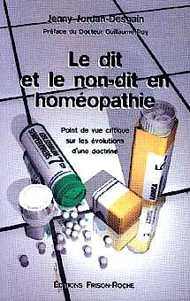 Portada del libro 9782876712287 Le Dit Et Le Non-Dit en Homeopathie