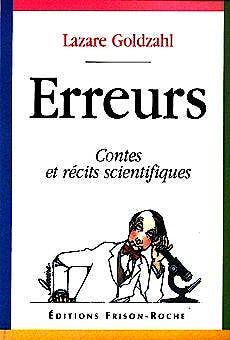 Portada del libro 9782876712973 Erreurs. Contes Et Recits Scientifiques