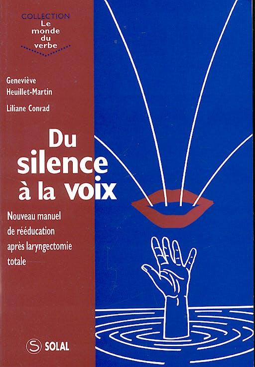 Portada del libro 9782905580627 Du Silence a la Voix