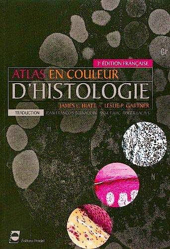 Portada del libro 9782913996991 Atlas en Couleur d'Histologie