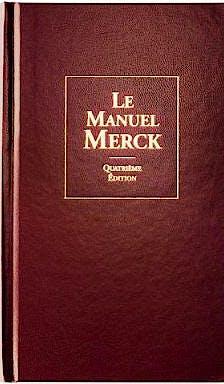 Portada del libro 9782914313063 Manuel Merck de Diagnostic Et Thérapeutique