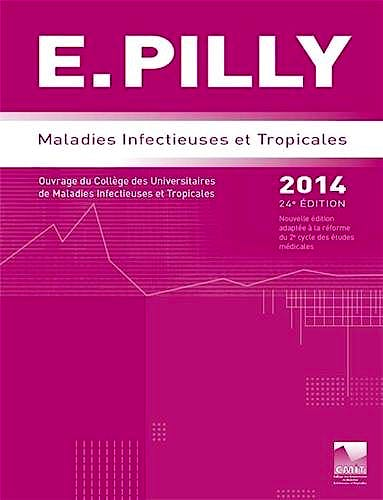 Portada del libro 9782916641577 Ecn Pilly 2014 : Maladies Infectieuses Et Tropicales
