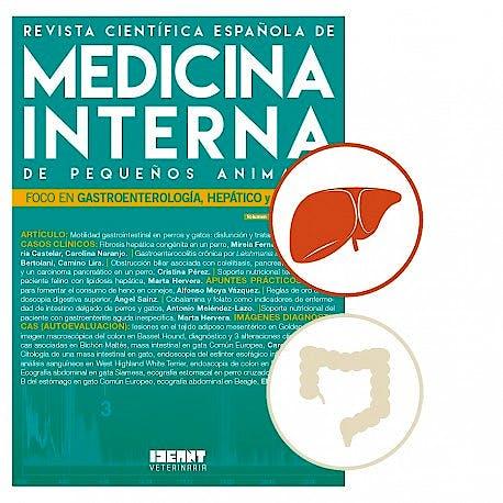 Portada del libro 9782919800292 Revista Científica Española de Medicina Interna de Pequeños Animales. Foco en Gastroenterología, Hepático y Páncreas (Vol. 1, Nº 4, Julio-Agosto 2017)