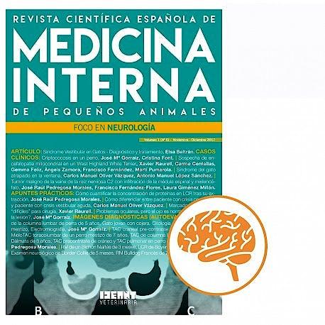 Portada del libro 9782919801909 Revista Científica Española de Medicina Interna de Pequeños Animales. Foco en Neurología (Vol. 1, Nº 6, Noviembre-Diciembre 2017)