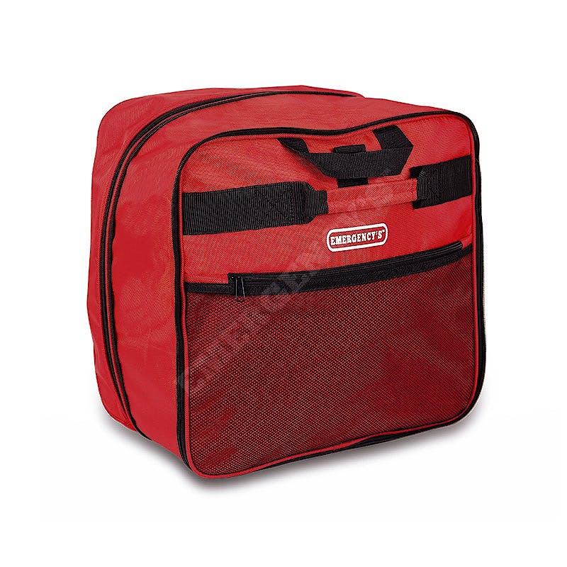 Bolsa Bomberos EPI Porta Manguera con Ruedas EM13.020, Color Rojo