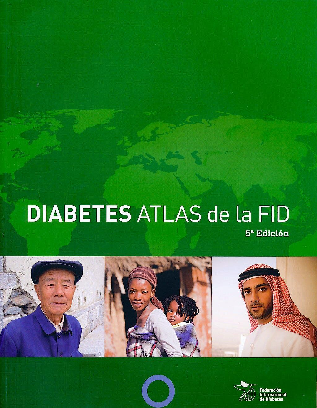 Portada del libro 9782930229805 Diabetes Atlas de la Fid