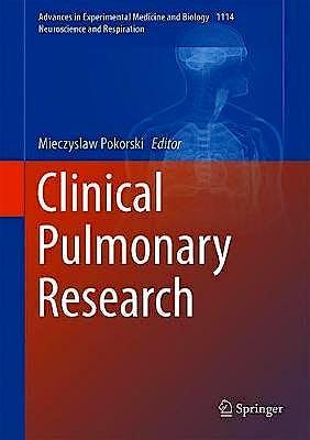 Portada del libro 9783030038694 Clinical Pulmonary Research (Advances in Experimental Medicine and Biology)