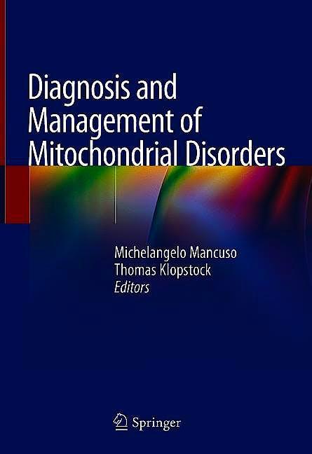 Portada del libro 9783030055165 Diagnosis and Management of Mitochondrial Disorders