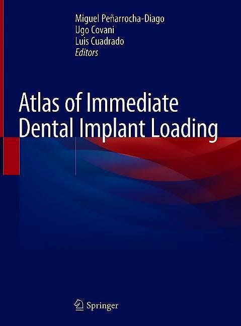 Portada del libro 9783030055448 Atlas of Immediate Dental Implant Loading
