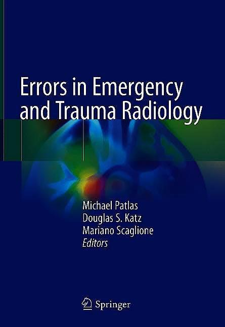 Portada del libro 9783030055479 Errors in Emergency and Trauma Radiology