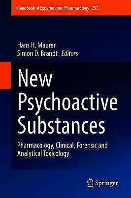 Portada del libro 9783030105600 New Psychoactive Substances. Pharmacology, Clinical, Forensic and Analytical Toxicology (Handbook of Experimental Pharmacology, Vol. 252)