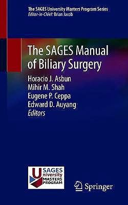 Portada del libro 9783030132750 The SAGES Manual of Biliary Surgery