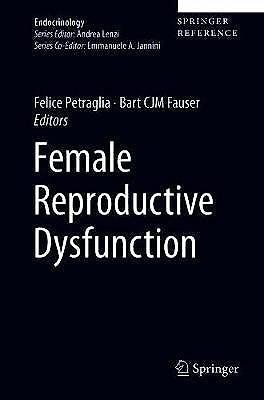 Portada del libro 9783030147839 Female Reproductive Dysfunction (Print + E-Book)