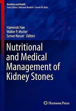 Portada del libro 9783030155339 Nutritional and Medical Management of Kidney Stones (Nutrition and Health)