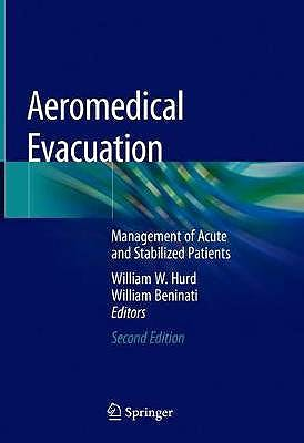 Portada del libro 9783030159023 Aeromedical Evacuation. Management of Acute and Stabilized Patients