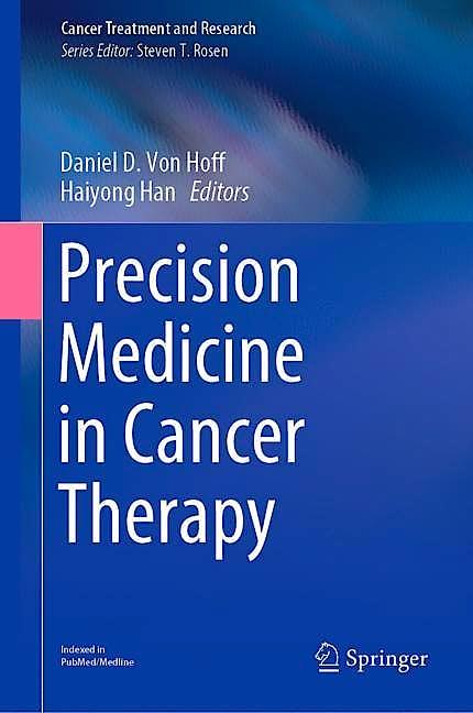 Portada del libro 9783030163907 Precision Medicine in Cancer Therapy (Cancer Treatment and Research, Vol. 178)