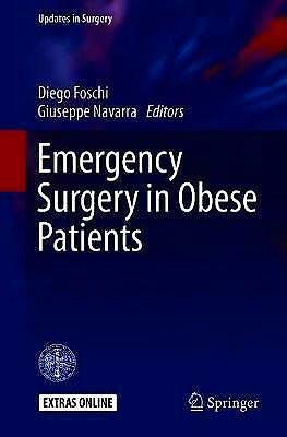 Portada del libro 9783030173043 Emergency Surgery in Obese Patients
