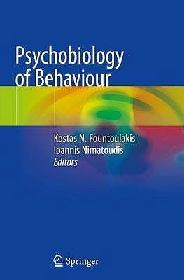 Portada del libro 9783030183257 Psychobiology of Behaviour